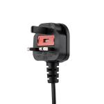 StarTech.com PXTNB2SUK6 electriciteitssnoer Zwart 1,8 m BS 1363 C7 stekker