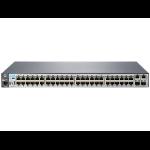 Hewlett Packard Enterprise Aruba 2530-48 Managed L2 Fast Ethernet (10/100) 1U Grey