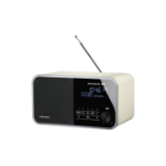 Grundig DTR 3000 DAB+ radio Personal Analog & Digital White