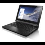 "Lenovo ThinkPad Yoga 11e 1.6GHz N3160 11.6"" 1366 x 768pixels Touchscreen Black Hybrid (2-in-1)"