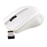 APPROX APPWMLITE 1200dpi Wireless Mouse with Nano USB Receiver, 10m, White/Grey (APPWMLITEW)