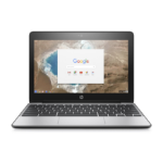 """HP Chromebook 11 G5 + Comfort Grip Wireless Mouse 1.6GHz N3050 11.6"""" 1366 x 768pixels Silver Chromebook"""