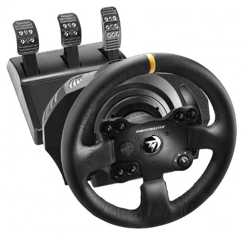 Thrustmaster TX Racing Wheel Leather Steering wheel + Pedals PC,Xbox One Analogue Black
