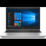 "HP ProBook 650 G4 Zilver Notebook 39,6 cm (15.6"") 1920 x 1080 Pixels Intel® 8ste generatie Core™ i5 i5-8250U 8 GB DDR4-SDRAM 256 GB SSD 3G 4G"