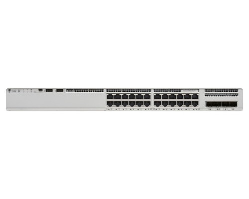 Cisco Catalyst C9200L Unmanaged L3 Fast Ethernet (10/100) Grey Power over Ethernet (PoE)
