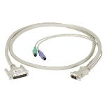 """Black Box EHN382-0010 KVM cable 118.1"""" (3 m) Beige"""