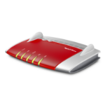 AVM FRITZ!Box 3490, DE Dual-band (2.4 GHz / 5 GHz) Gigabit Ethernet 3G Grey,Red,Silver wireless router