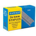 Rapesco 26/6-8mm 26 staples