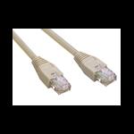 MCL Cable RJ45 Cat5E 10.0 m Grey cable de red 10 m Gris