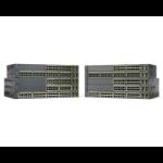 Cisco Catalyst WS-C2960+48PST-S netwerk-switch Managed L2 Fast Ethernet (10/100) Power over Ethernet (PoE) Zwart