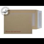 Blake Purely Packaging Board Back Pocket Peel and Seal Manilla B4 352×250mm 120gm (Pk 125)