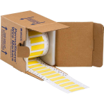 Brady PermaSleeve Yellow Polyvinyl Fluoride (PVF) 7.6 cm 250 pc(s)