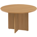 Arista FF ARISTA ROUND MEETING TABLE MAPLE