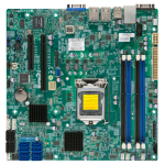 Supermicro X10SL7-F Intel C222 Socket H3 (LGA 1150) Micro ATX server/workstation motherboard
