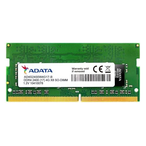 ADATA AD4S2400J4G17-S memory module 4 GB DDR4 2400 MHz