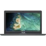 "ASUS Chromebook C403NA-FQ0019 notebook 35.6 cm (14"") 1366 x 768 pixels Intel® Celeron® 4 GB LPDDR4-SDRAM 32 GB eMMC Wi-Fi 5 (802.11ac) Chrome OS Grey"