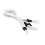 BitFenix BFA-MSC-3F33F60WW-RP cable interface/gender adapter 3-pin 3 x 3-pin White
