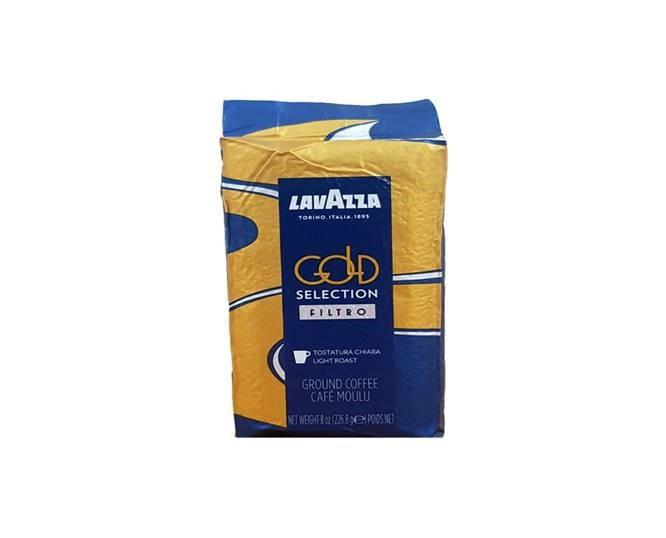 LAVAZZA Gold Selection Filtro Ground Coffee 226.8g
