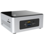 Intel NUC BOXNUC5CPYH PC/workstation barebone N3050 1.6 GHz UCFF Black,Silver BGA 1170