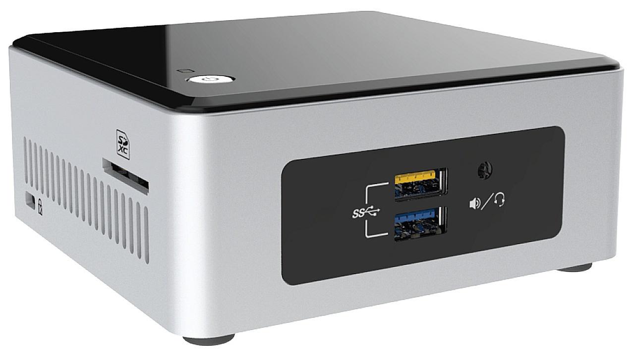 Intel NUC5CPYH 1.6GHz Celeron N3050 BGA1170 UCFF Black,Silver