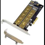 Microconnect MC-PCIE-X4M2 interface cards/adapter Internal M.2