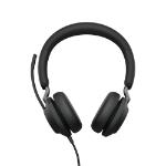 Jabra Evolve2 40, UC Stereo Headset Head-band Black