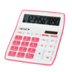Genie 840 P calculator Desktop Display Pink, White