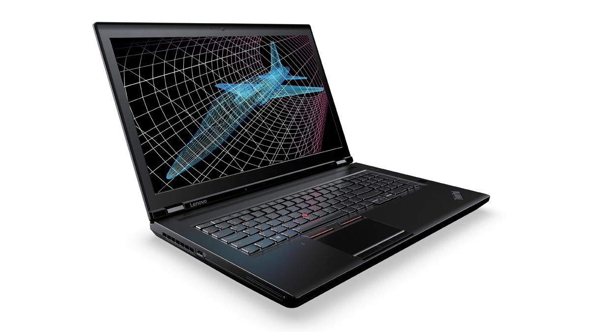 "Lenovo ThinkPad P70 2.8GHz E3-1505MV5 17.3"" 3840 x 2160pixels Black Mobile workstation"