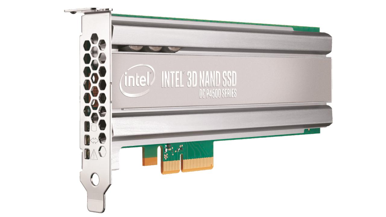 SSD Dc P4500 Series 4TB 1/2 Height Pci-e3.1 X4 3d1 Tlc Single Pack