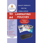 Cathedral Products Laminating Pouch A4 150Micron Pk50