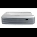 Optoma X320UST videoproyector 4000 lúmenes ANSI DLP XGA (1024x768) 3D Proyector para escritorio Gris, Blanco