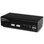 StarTech.com Switch Conmutador KVM de 2 Puertos VGA con Tecnología de Conmutado Rápido (DDM) y Cables