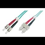 ASSMANN Electronic ST/SC, 10m 10m SC ST Multi kleuren Glasvezel kabel