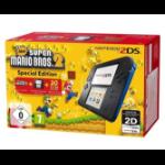 "Nintendo 2DS Blue/Black + New Super Mario Bros. 2 Pack 3.53"" Touchscreen Wi-Fi Black,Blue portable game console"