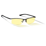 Gunnar Optiks Emissary Amber Onyx Indoor Digital Eyewear