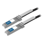 AddOn Networks 1m SFP+ networking cable Black
