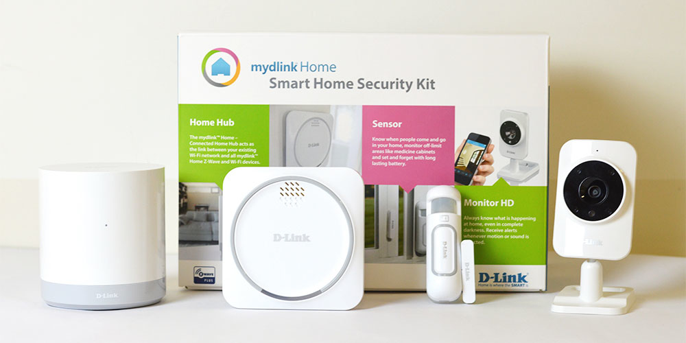 Mydlink Home Security Starter Kit Dch-107kt