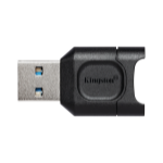 Kingston Technology MobileLite Plus geheugenkaartlezer Zwart USB 3.2 Gen 1 (3.1 Gen 1) Type-A