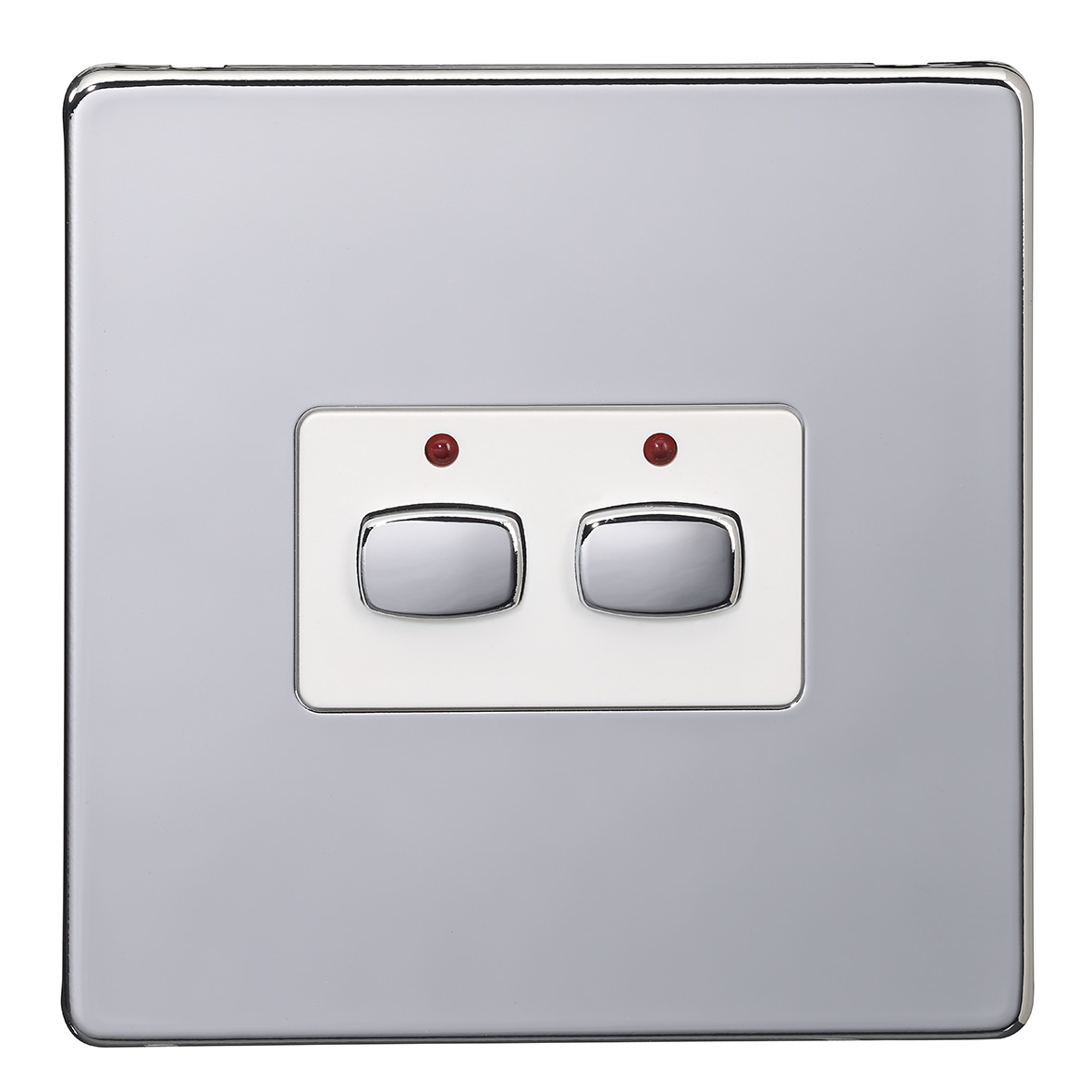 EnerGenie MIHO072 light switch Stainless steel,White