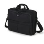 "Dicota Top Traveller notebook case 39.6 cm (15.6"") Messenger case Black"