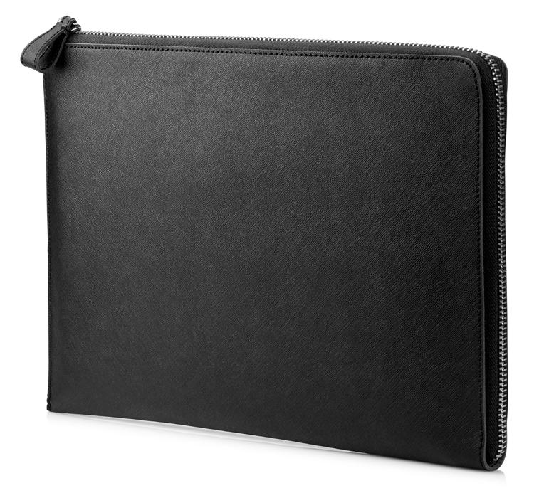 "HP Elite 13.3 Black Leather Sleeve 33.8 cm (13.3"") Sleeve case"