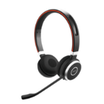 Jabra Evolve 65 MS Stereo Headset Head-band Bluetooth Black