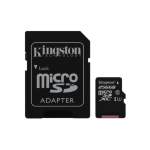 Kingston Technology Canvas Select memory card 256 GB MicroSDXC Class 10 UHS-I