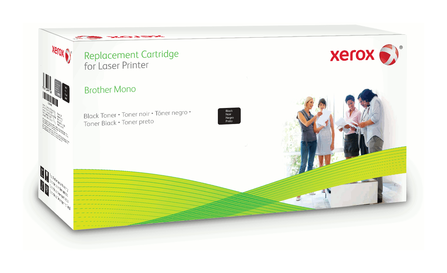 Xerox 006R03157 compatible Toner black, 1000 pages, Pack qty 1 (replaces Brother TN2010)