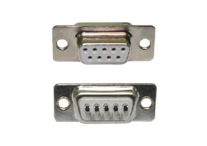 Cables Direct D9-F D9 Nickel wire connector