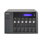 QNAP TS-653 Pro 24TB (Seagate Enterprise Capacity) 6 bay NAS; 2GB DDR3L RAM (max 8GB); Intel Celeron 2.0
