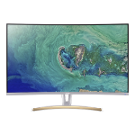 """Acer ED3 ED323QUR widpx computer monitor 31.5"""" Wide Quad HD Curved White"""