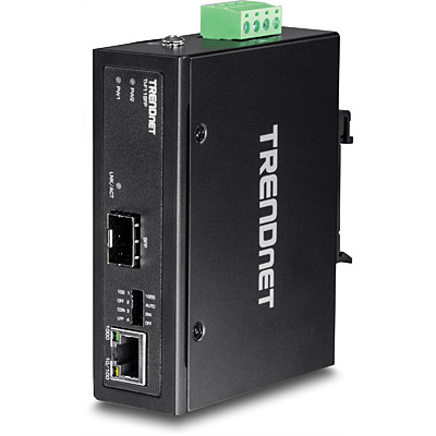 Trendnet TI-F11SFP network media converter 1000 Mbit/s Black