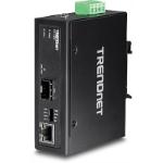 Trendnet TI-F11SFP convertidor de medio 1000 Mbit/s Negro