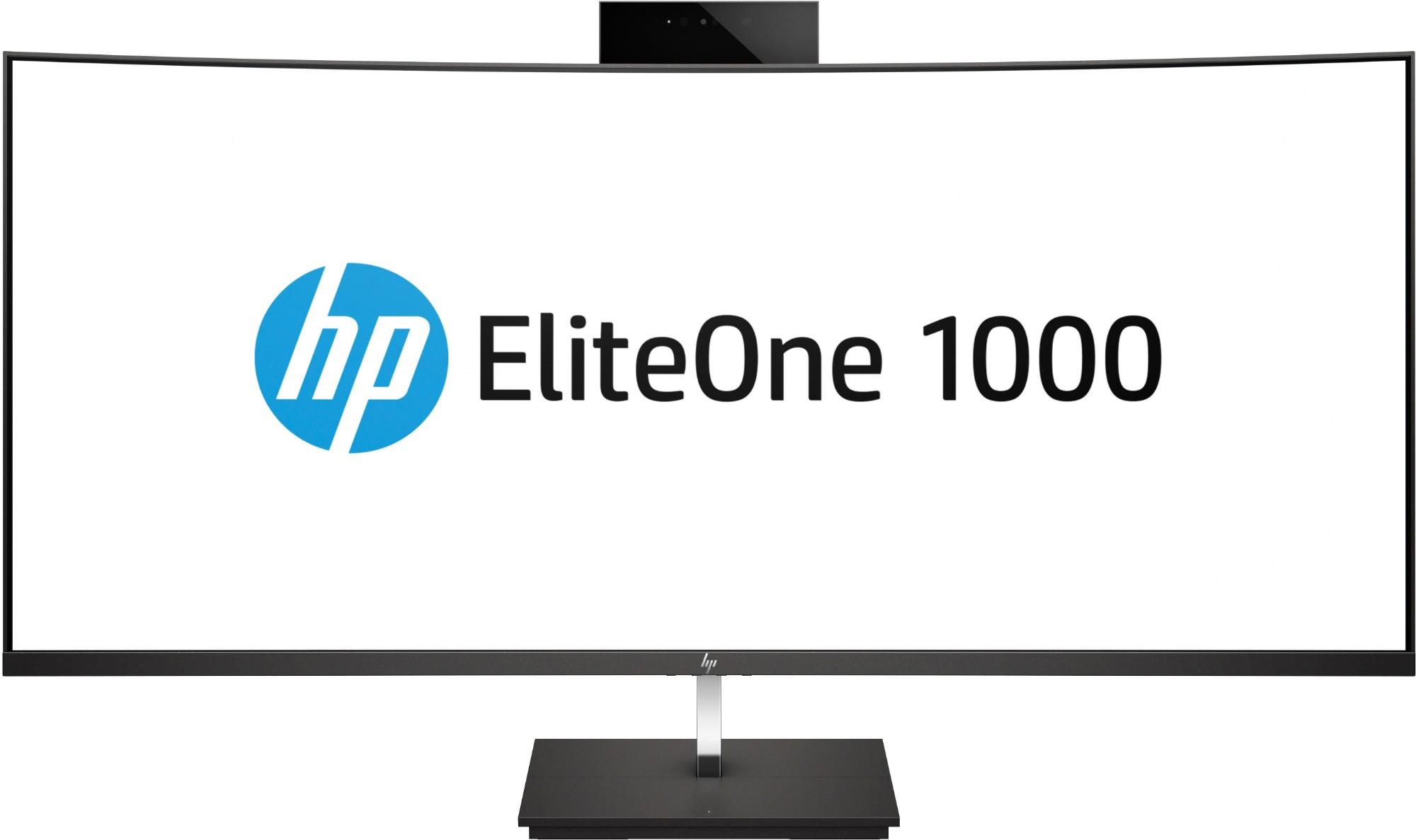 "HP EliteOne 1000 G2 86,4 cm (34"") 3440 x 1440 Pixels 3 GHz Intel® 8ste generatie Core™ i5 i5-8500 Zwart Alles-in-één-pc"